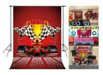FUERMOR Customized Background 5x7ft Champion Racing Car Photography Backdrop Studio Photo Props GEFU626