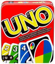 UNO: Family Card Game, with 112 Cards in a Sturdy Storage Tin, Travel-Friendly, Makes a Great Gift for 7 Year Olds and Up [Amazon Exclusive]