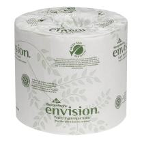 Envision 2-Ply Embossed Toilet Paper by GP PRO (Georgia-Pacific), 19885, 550 Sheets Per Roll, 80 Rolls Per Sheet
