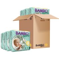 Bambo Nature Eco Friendly Baby Diapers Classic for Sensitive Skin, Size 3 (11-20 lbs), 198 Count (6 Pack of 33)