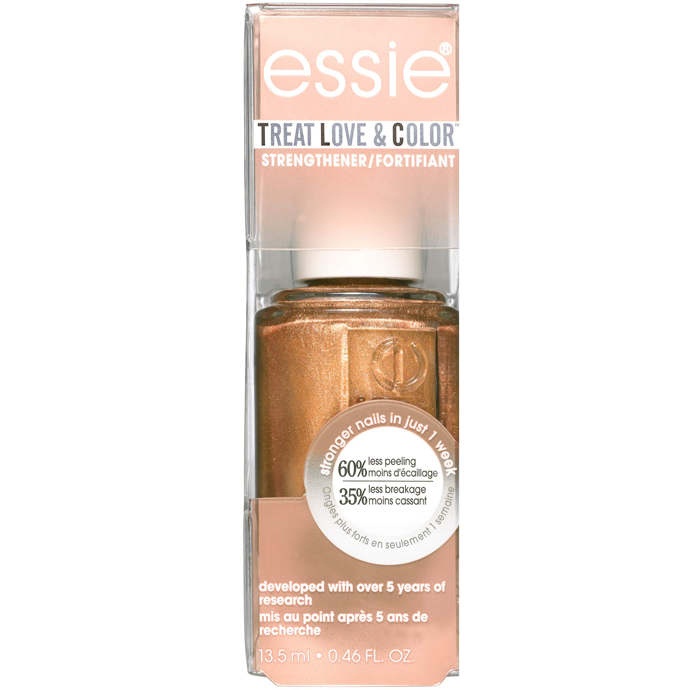 essie Treat Love & Color Nail Polish For Normal To Dry/Brittle Nails, Pep In Your Rep, 0.46 fl. oz.