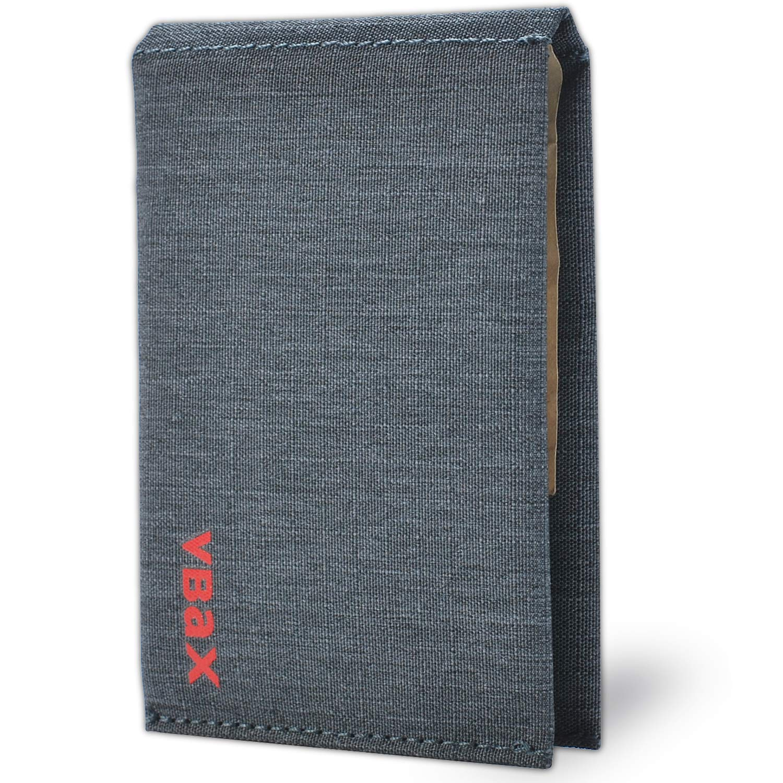 Microfiber Waterproof Slim Bifold Wallet - Minimalist RFID Front Pocket Credit Card Holder