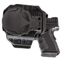 Alien Gear Cloak Mod OWB Paddle Holster - Custom Made for Your Gun (Select Pistol Size) - Open Carry - Adjustable Retention - Right and Left Hand - Made in The USA