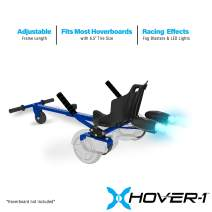 Hover-1 Falcon 1 Hoverboard Seat Attachment Turbo Light, Transform Your Hoverboard into Go-Kart