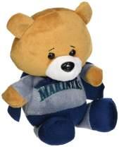 FOCO MLB Seattle Mariners Superhero Plush Bear