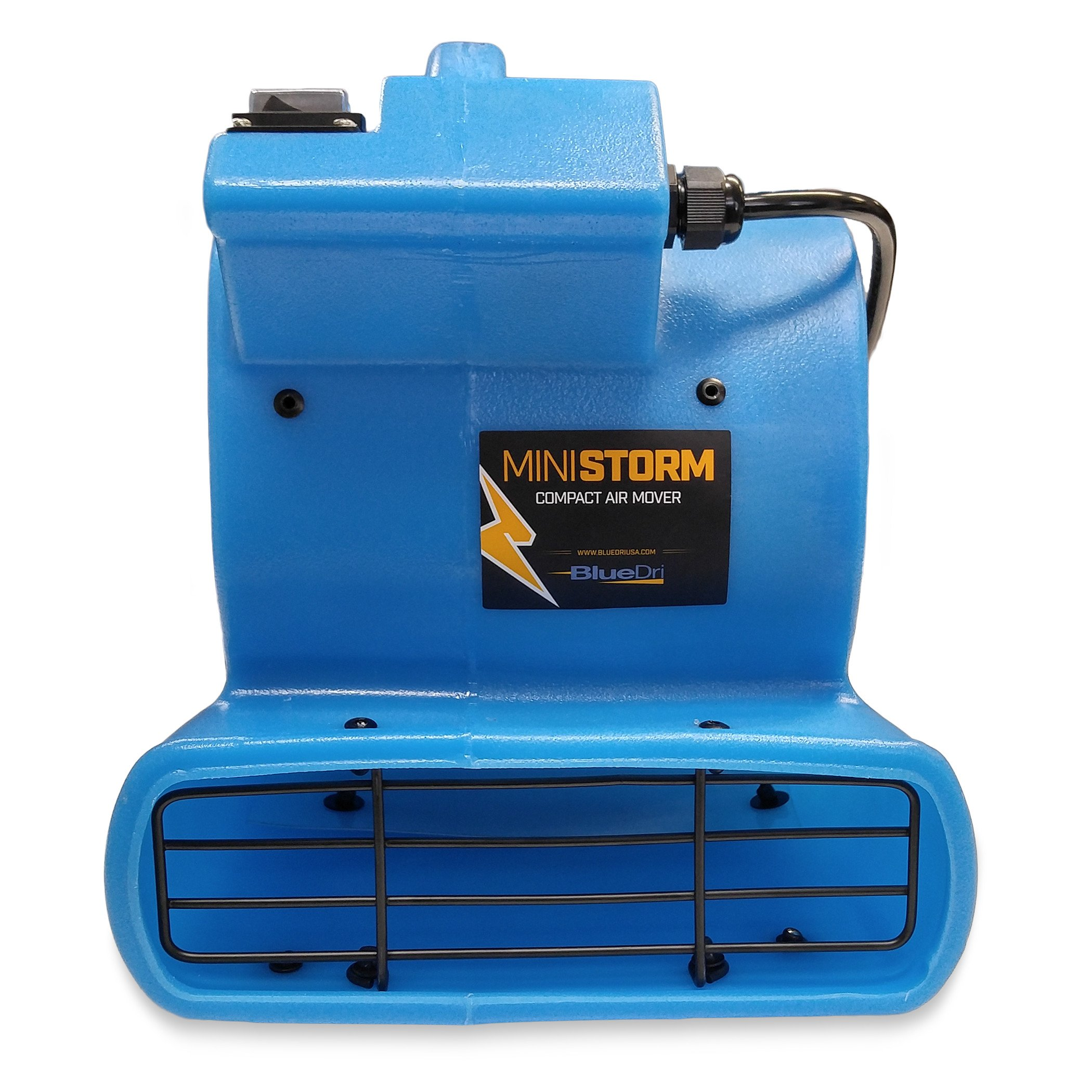 BlueDri Mini Storm 1/12 HP Mini Air Mover Carpet Dryer Floor Squirrel Cage Blower Fan for Home Floors and Carpets, Blue (SA-MI-BL)