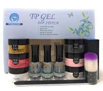 TP Gel Dip Powder Starter Kit. 1 oz. per jar. Easy to use nail dipping powder kit. Value Kit #2