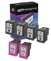 Speedy Inks Remanufactured Ink Cartridge Replacement for HP 62XL High Yield (4 Black, 2 Color, 6-Pack)