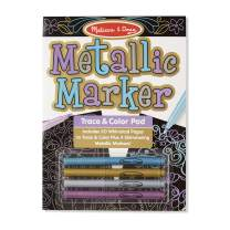 Melissa & Doug Metallic Marker Trace and Color Pad