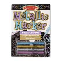 Melissa & Doug Metallic Marker Trace and Color Pad