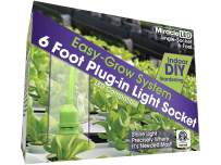 MiracleLED 604689 Single-Socket (4-Pack) Grow Tent Fixture