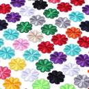 SHELCUP Cool Embroidered Iron on Patches, for Jackets, Packs, Jeans, Assorted Styles, 100pcs Flowers