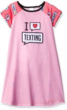 The Children's Place Girls' Short Sleeve Nightgown