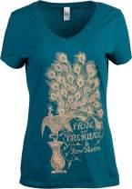 Pride & Prejudice | Jane Austen 1813 Romance Book Club Reader Reading Women's V-Neck T-Shirt Top