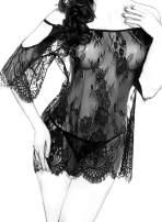 Avidlove Women Chemises Lace Smock Lingerie Mini Babydoll S-4XL