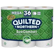 Quilted Northern EcoComfort Toilet Paper, 9 Mega Rolls, 2-Ply