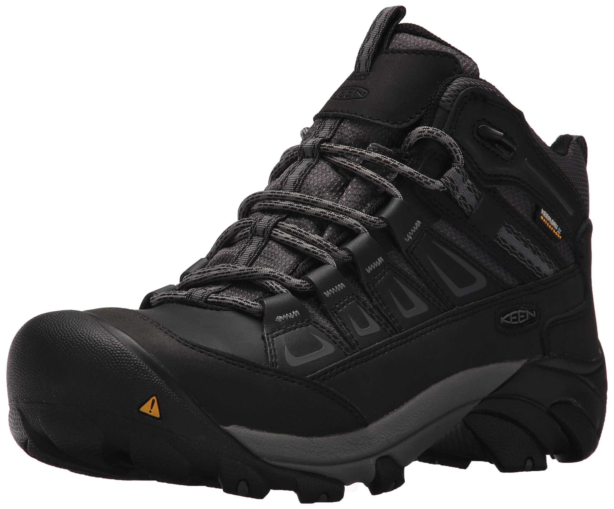 KEEN Utility Men's Boulder Mid Waterproof Industrial Boot
