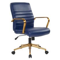 Ave Six Baldwin Office Chair, Navy