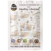 Daily Nuts Super Mix Series (Plant Protein, Antioxidant, Non-GMO, Gluten-Free, Kosher) (C. Healthy Six Mix, 32 PACK)