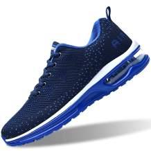 RomenSi Men's Air Cushion Sport Running Shoes Casual Athletic Tennis Sneakers