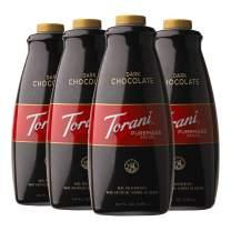 Torani Dark Chocolate Puremade Sauce, 64 Ounce