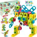 STEM Toys KIT 147 PCS   Educational Construction Set + 34 Models Step-by-Step Guide – Mobius Creative Engineering Toy – Building Blocks Learning Set for Boys & Girls 4 5 6 7 8 Years Old