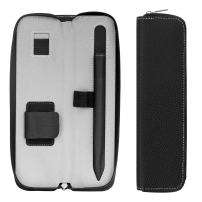 """MoKo Holder Case for Apple Pencil (1st and 2nd Gen), Carrying Bag Sleeve Pouch Cover for iPad Pro 11 & 12.9 2020/iPad 10.2/iPad Air(3rd Gen)10.5""""/iPad mini(5th Gen)7.9"""" 2019, Built-in Pocket - Black"""