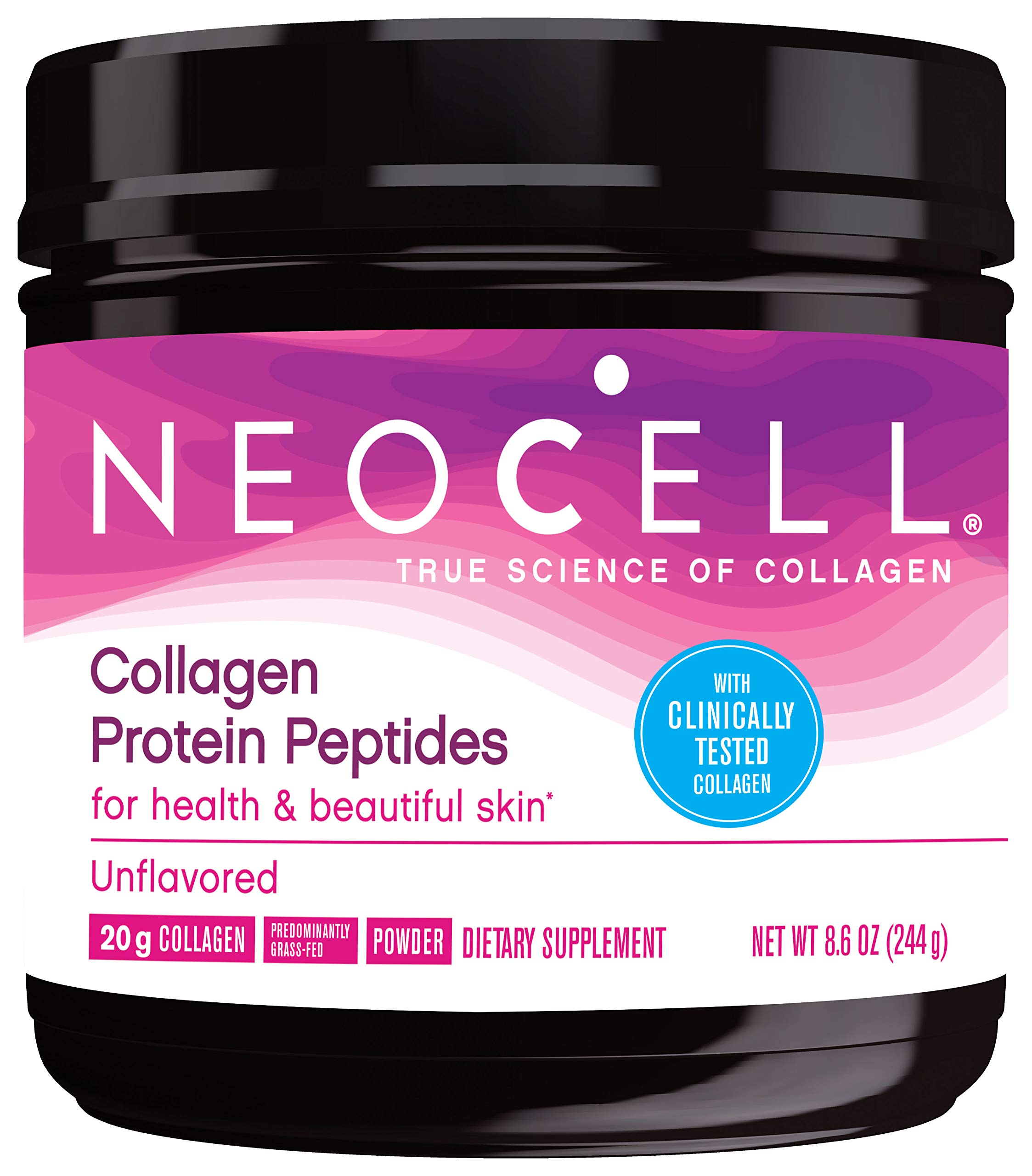 Neocell Collagen Protein Peptides – for Heathy & Beautiful Skin (Unflavored, 12 Servings)
