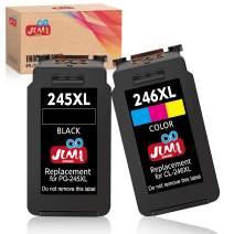 JIMIGO Compatible Ink Cartridge Replacement for Canon PG-245XL CL-246XL 245 246 XL for Pixma MX492 MX490 MG2520 MG2920 MG2420 MG2522 MG2922 MG2525 MG3022 MG3020 IP2820 (1 Black, 1 Tri-Color)