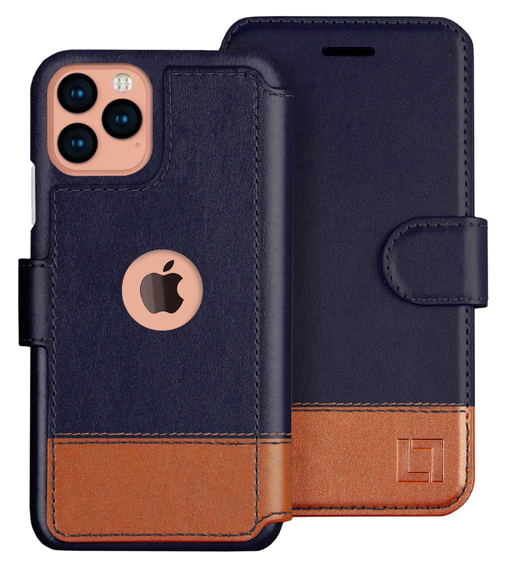 LUPA iPhone 11 Pro Wallet Case -Slim iPhone 11 Pro Flip Case with Credit Card Holder, iPhone 11 Pro Wallet Case for Women & Men, Faux Leather i Phone 11 Pro Purse Cases, Desert Sky