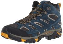 Merrell Men's Moab 2 Mid Waterproof Hiking Shoe