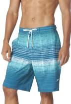 Speedo Mens Swim Trunk Knee Length Boardshort Active Flex E-Board Printed