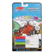 Melissa & Doug On the Go Magicolor Coloring Pad: Adventure - 18 Coloring Pages and 4 Markers (Great Gift for Girls and Boys - Best for 3, 4, 5, 6, 7 Year Olds and Up)