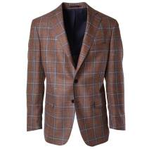 Haspel Tan Sport Coat - Tan Window Pane
