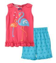 BabyBoysCottonSummerSetsShortsleeveElephantPatternt-ShirtsandShorts2pcsClothingSets(BA303,0-6M