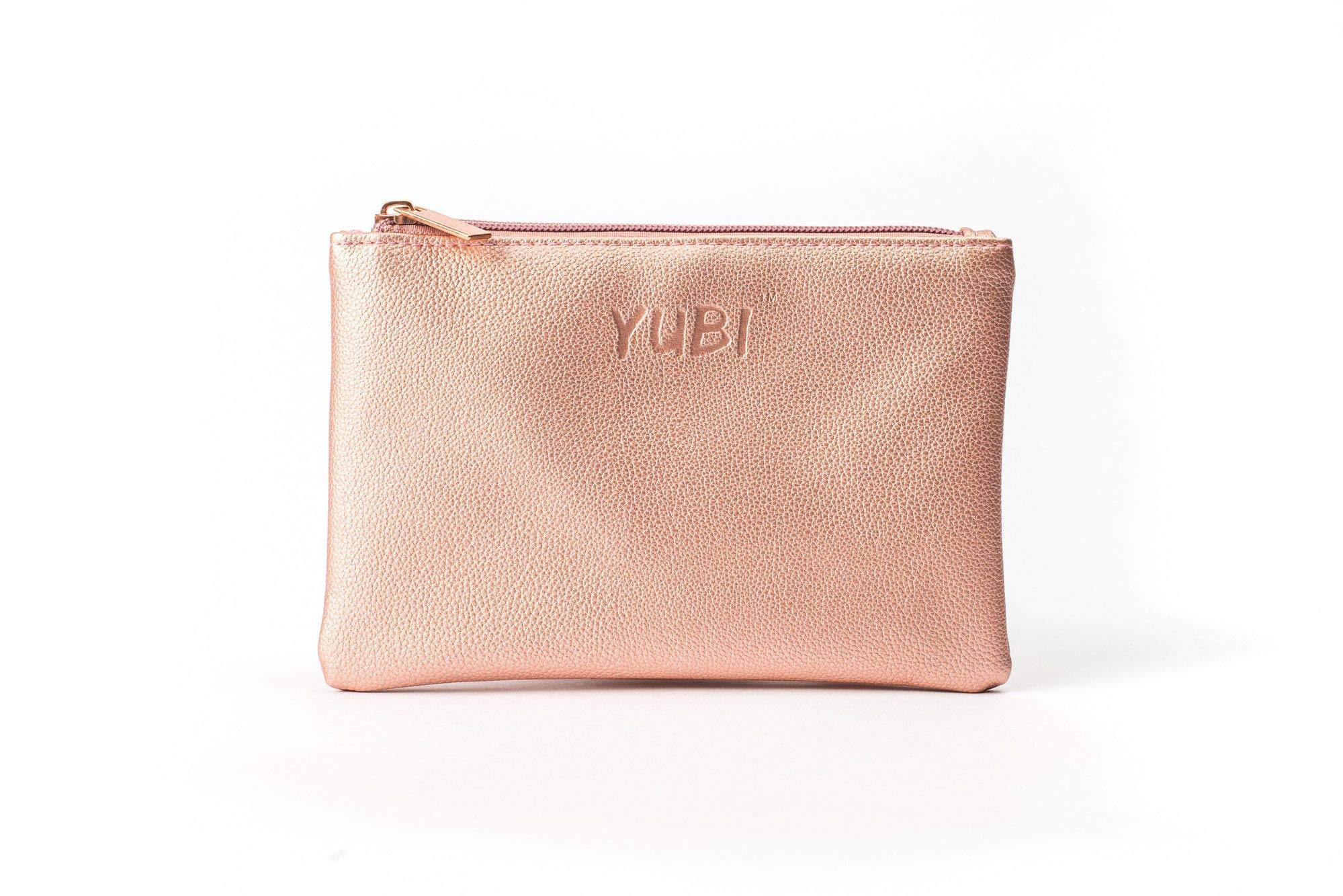 YUBI Makeup Pouch Cosmetic Beauty Bag – Perfect for Yubi Brush and Sponge - Make up Essentials Toiletry Bag Organizer for Women – Travel Essential Makeup Case for Your Accessories