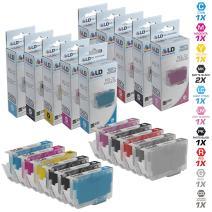 LD Compatible Replacements for Canon PGI-72 11PK Ink Cartridges: 2 6402B002, 1 6403B002, 1 6404B002, 1 6405B002, 1 6406B002, 1 6407B002, 1 6408B002, 1 6409B002, 1 6410B002, 1 6411B002