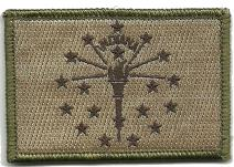 Tactical State Patch - Indiana