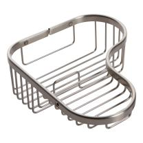 Ginger 504L/SN Splashables Shower, Satin Nickel, Combination Corner Basket