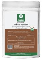 Organic Trikatu Powder (8 Ounce) - Piper Longum + Piper Nigrum + Zingiber Officinale   Improves Digestion and Immunity