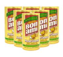 Bon Ami Polish and Cleanser Powder  14 Ounce (Set of 6)