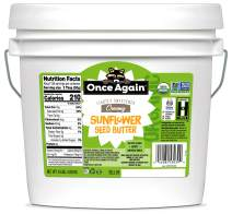 Once Again Organic, Creamy Sunflower Butter - Lightly Sweetened & Salted - 9 lb Bucket