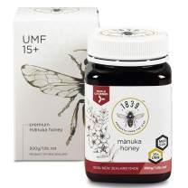 1839 Manuka Honey, UMF 15+ Premium New Zealand Manuka (MGO 514+), 500g (1.1lbs)