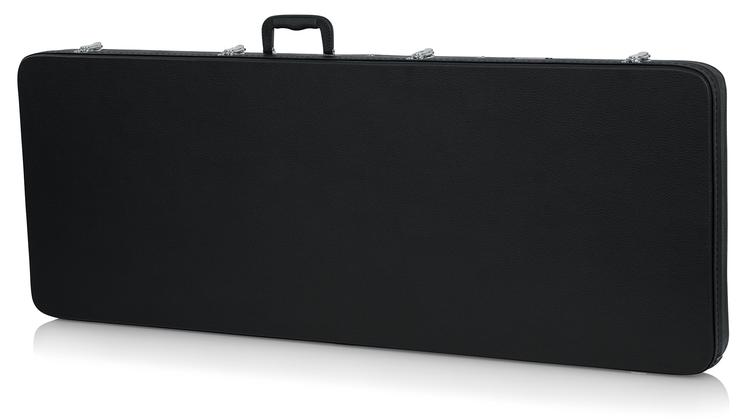 Gator Cases Hard-Shell Wood Case for Extreme Shaped Guitars; Fits Explorer, Flying V, BC Rich, & More (GWE-EXTREME)
