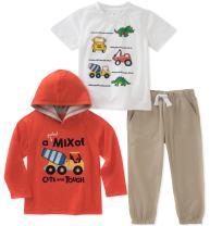 Kids Headquarters Boys' 3 Pieces Pants Set