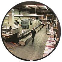 "See All N12 Circular Glass Indoor Convex Security Mirror, 12"" Diameter (Pack of 1)"