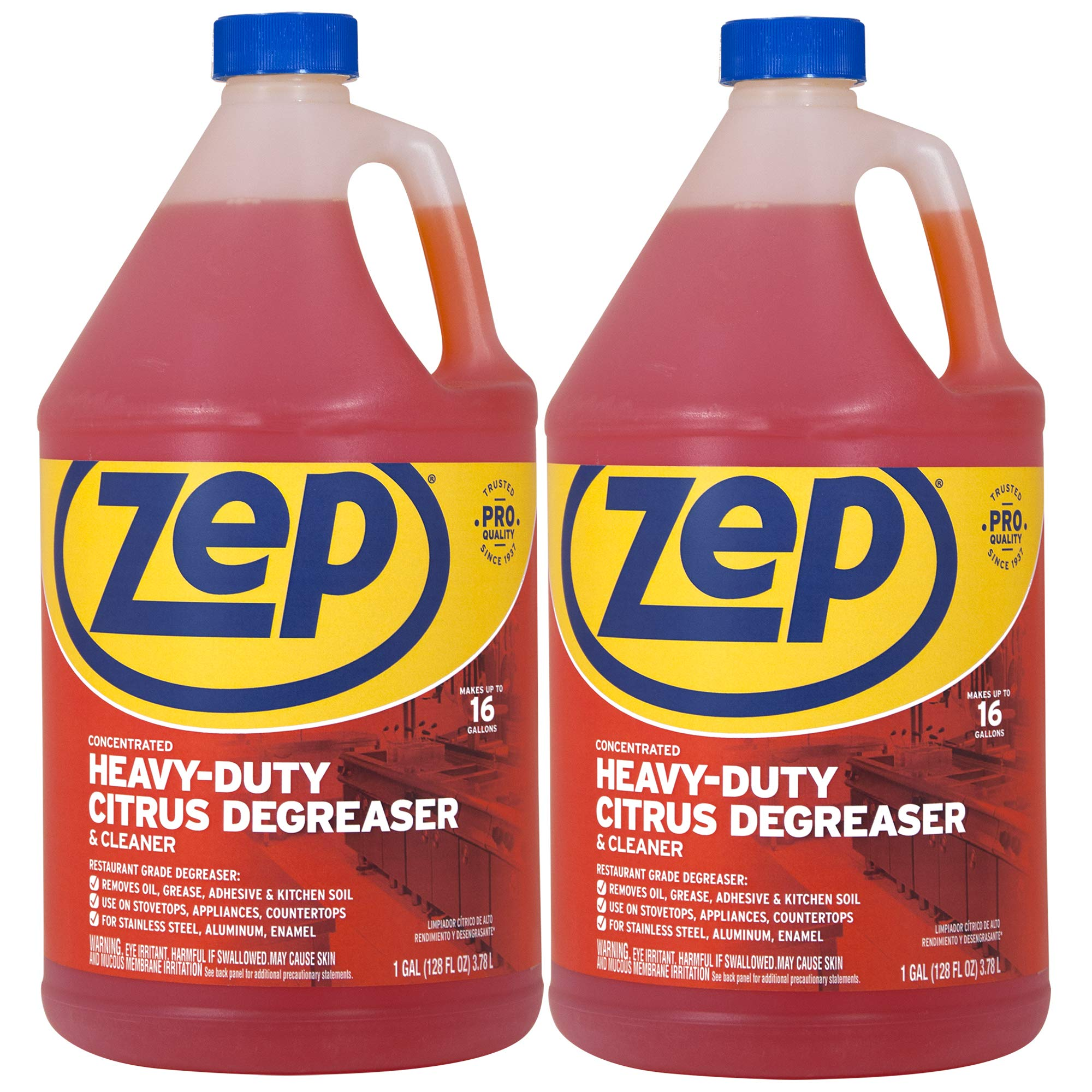 Zep Citrus Heavy-Duty Degreaser and Cleaner ZUCIT128 128 ounce (Pack of 2) Not for Sale in California
