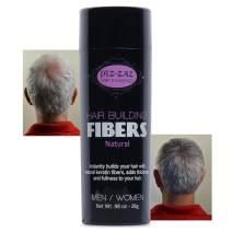 Keratin Hair Fiber By Piz-Zaz Hair Thickener For A Thicker, Fuller Head Of Hair (Light Blonde)