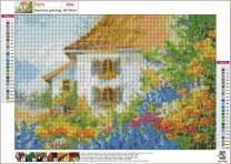 KOTWDQ 5D Diamond Painting Full Drill Rural Paint by Number Kits Embroidery Paintings Pictures Arts Craft for Home Wall Decor 16x 12 inch
