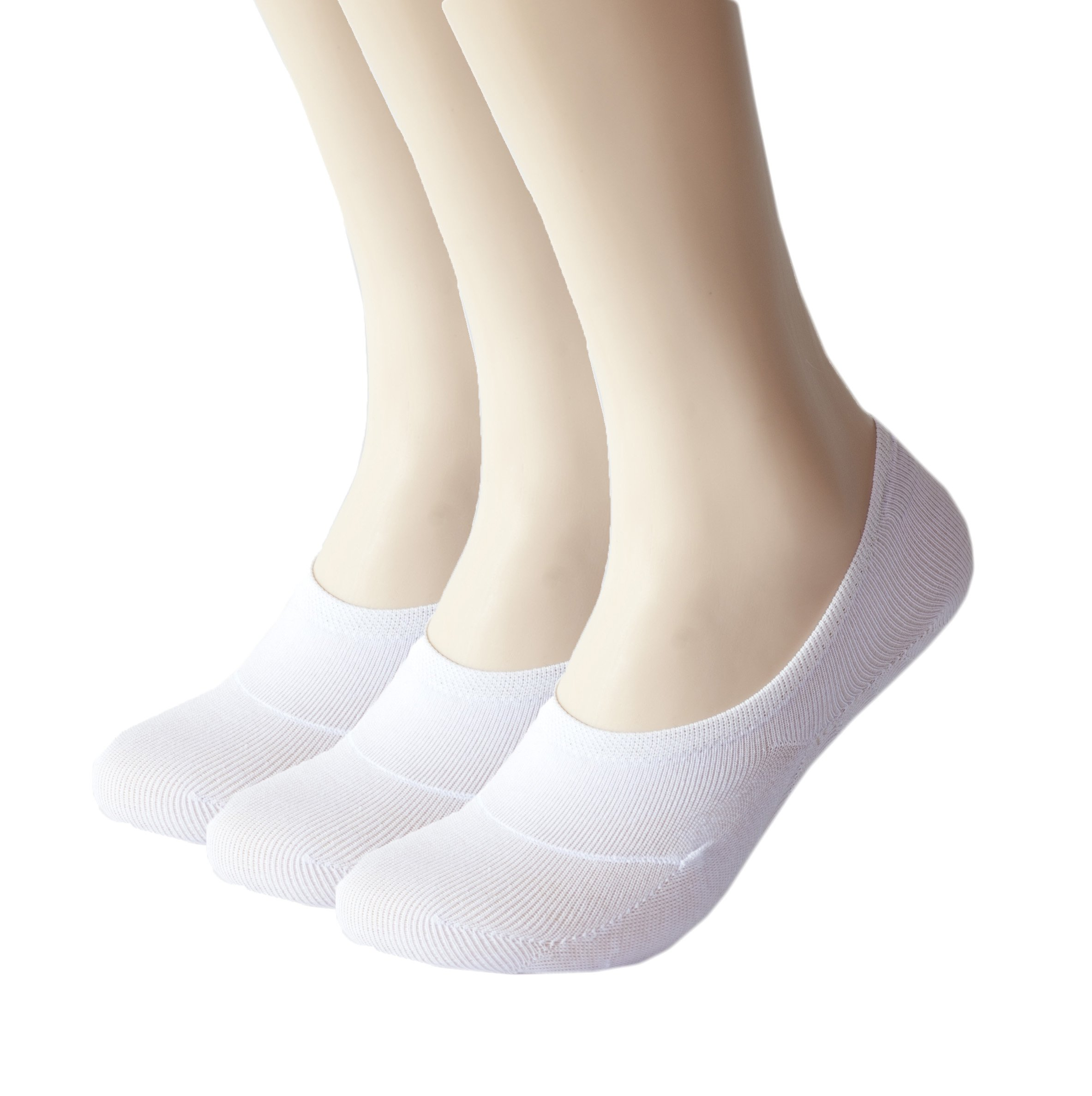 Women No Show Socks 3 to 8 Pairs Thin Non Slip Flat Boat Line Low Cut Socks Women